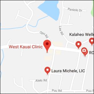 WKC - Kalaheo Map