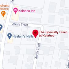 Google Map of Kalaheo Specialty